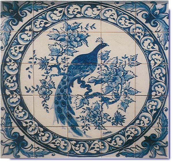 145 Best Images About Hand Painted Tiles On Pinterest