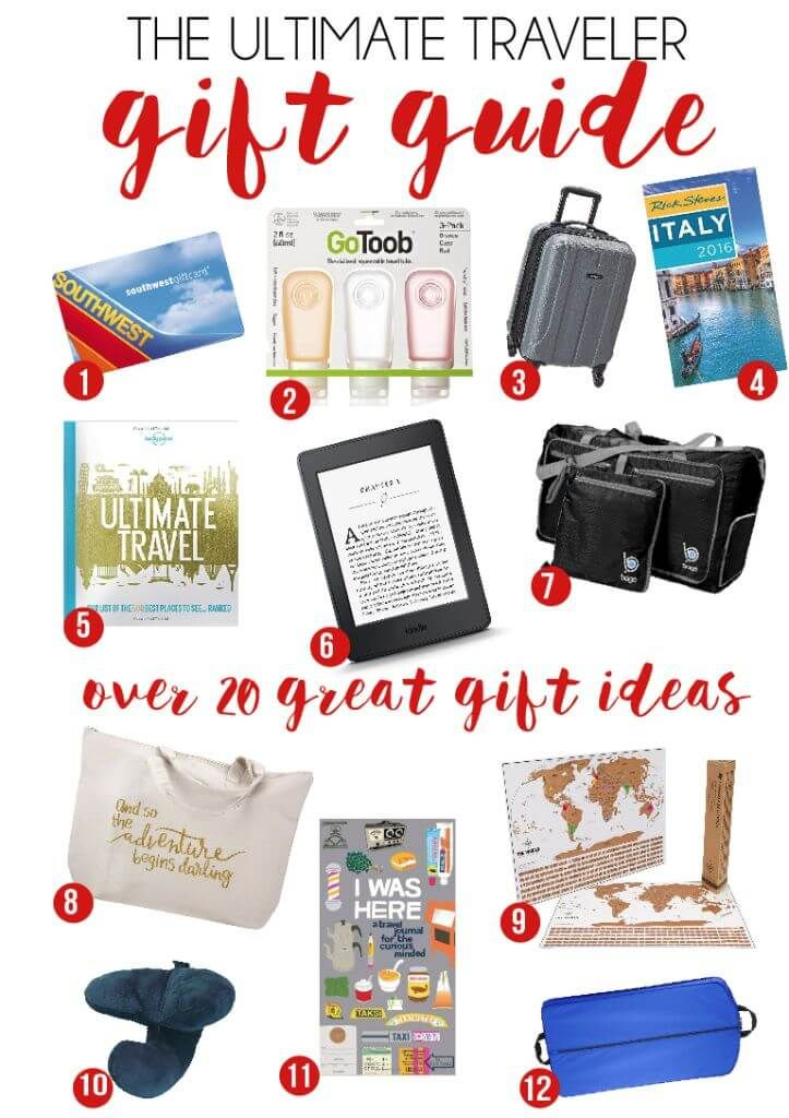 20 Great Gifts for Travelers You Can Buy on Amazon