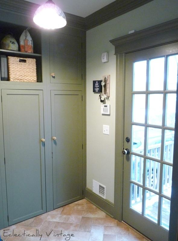 moulding around door..for french doors