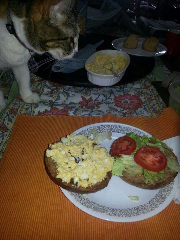 Desayuno perfecto.