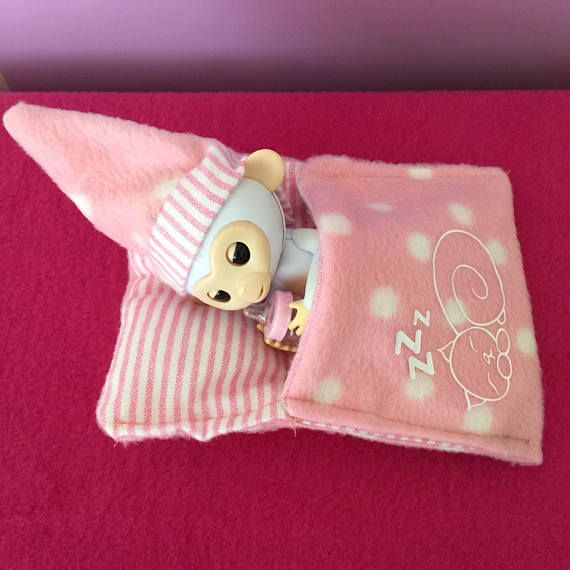 Fingerling Sleeping Bag And Night Cap For Your Monkey