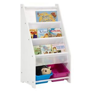 Childrens Book Rack with 2 Tubs