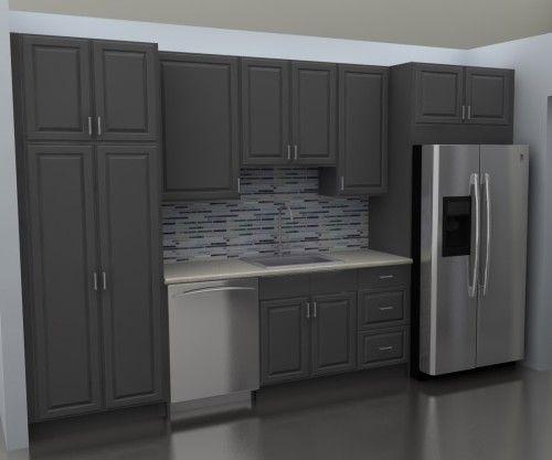 IKEA Kitchen Cabinets At Sink Wall Kitchen Pinterest