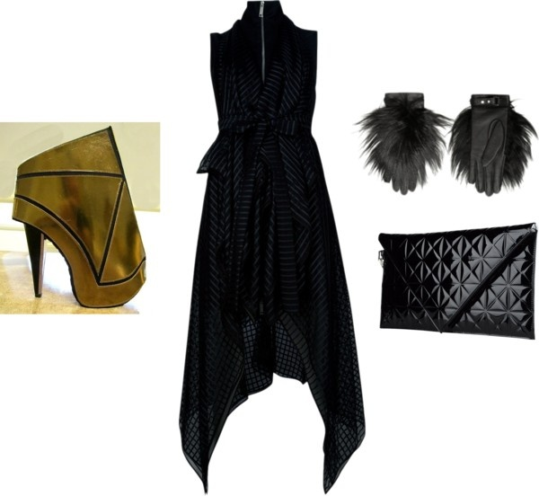 """all Gareth Pugh"" by artofimage on Polyvore"