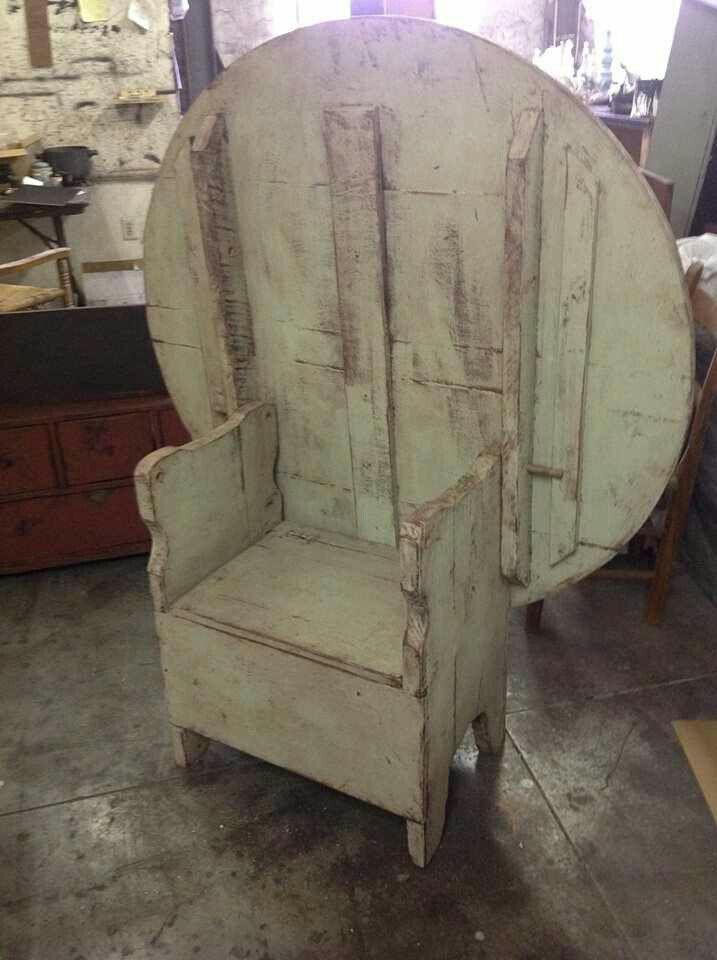 Antique Oak Monks Bench Hall Seat