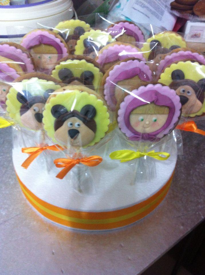 Masha & orso cookies