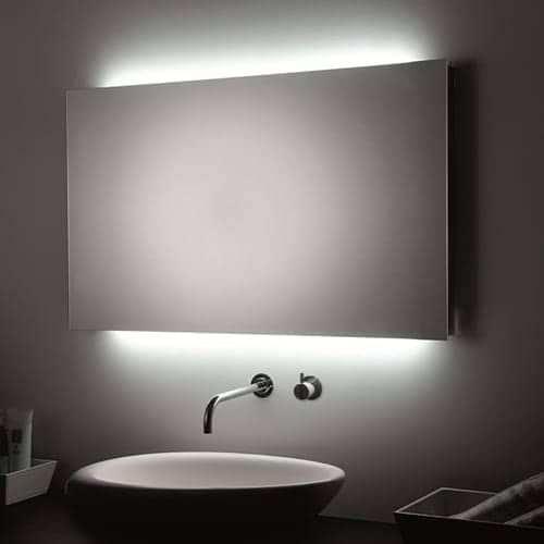 "WS Bath Collections T5-R L45911 31-1/5"" x 23-2/5"" Mirror with LED Lighting"
