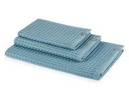 Dostępne w następujących rozmiarach: - ręcznik średni o wymiarach 50x100, - ręcznik duży o wymiarach70x140 Skład: 100% bawełna Gramatura: 350g/m2