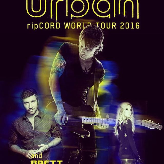 Keith is going on TOUR!!! @bretteldredge and @MarenMorris are coming with him! More details here: keithurban.net  #RipCORDWorldTour