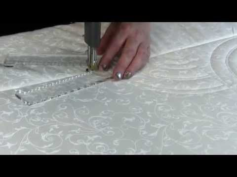 16 best quilt westalle designs template images on pinterest baptist fan using circles on quilts rotating template quilting rulers longarm pronofoot35fo Images