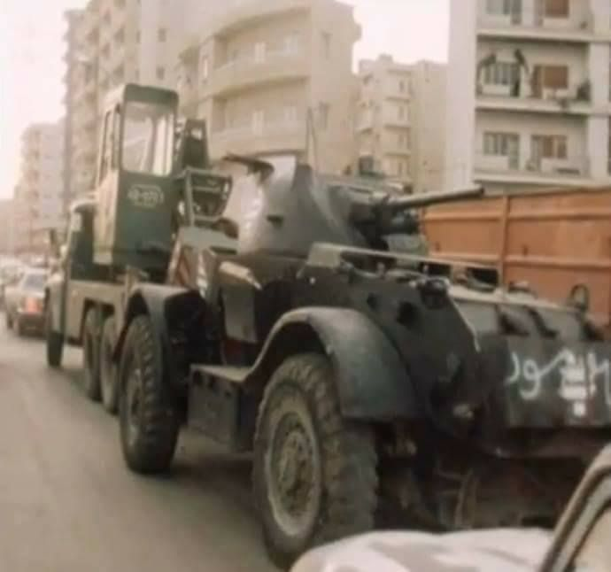 T-17 Staghound during Lebanese Civil War.