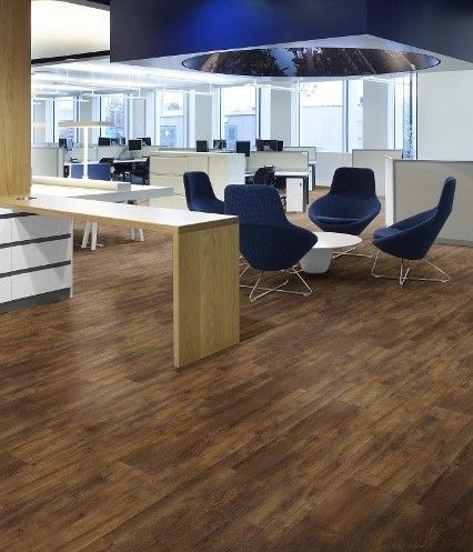 Creation flooring for commercial spaces