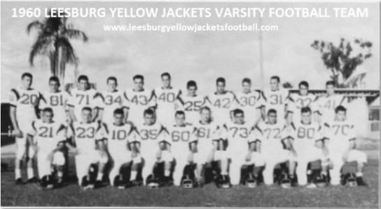 1960-1969 Leesburg High School Football Archives, Page 1