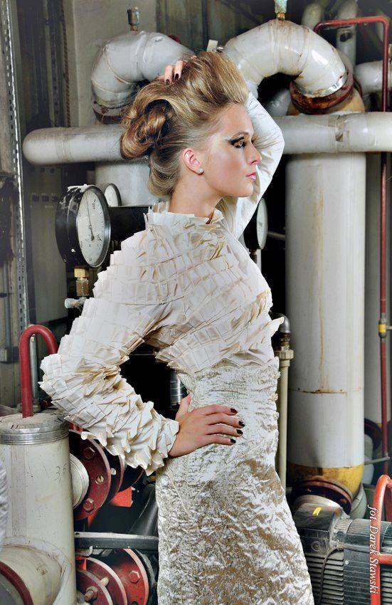 unique shirt and skirt  Gabriela Hezner   fot. Darek Stawski FAN PAGE  FB https://www.facebook.com/pages/Gabriela-Hezner-Designs/173112606072708?ref=bookmarks
