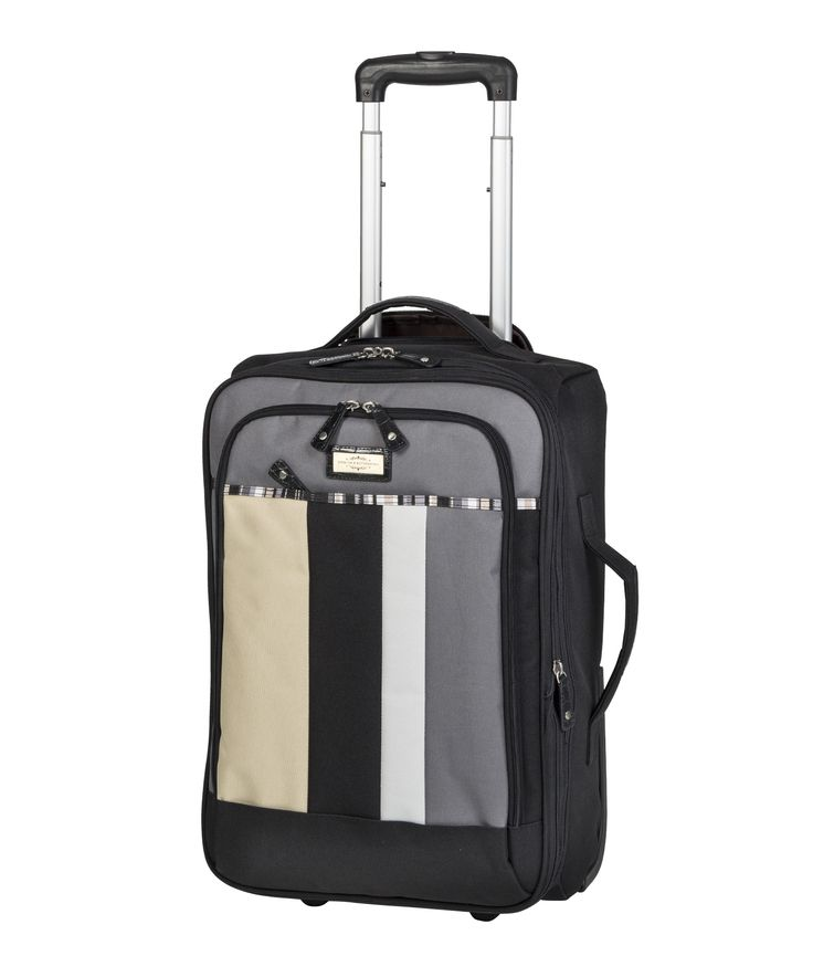 Spencer and Rutherford - Travel - Lightweight Trolley Case - XLight Trolley Medium - Cobblestone
