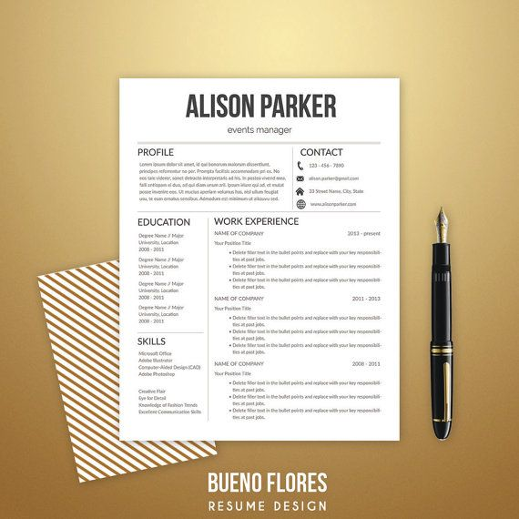 Best Bueno Flores Resume Designs Images On   Resume