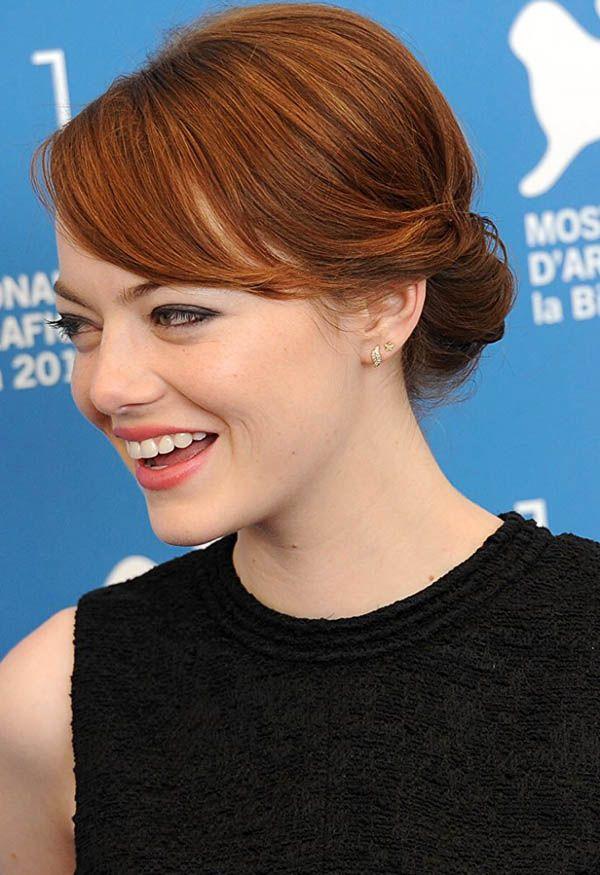 20 Emma Stone hairstyles. #celebrities
