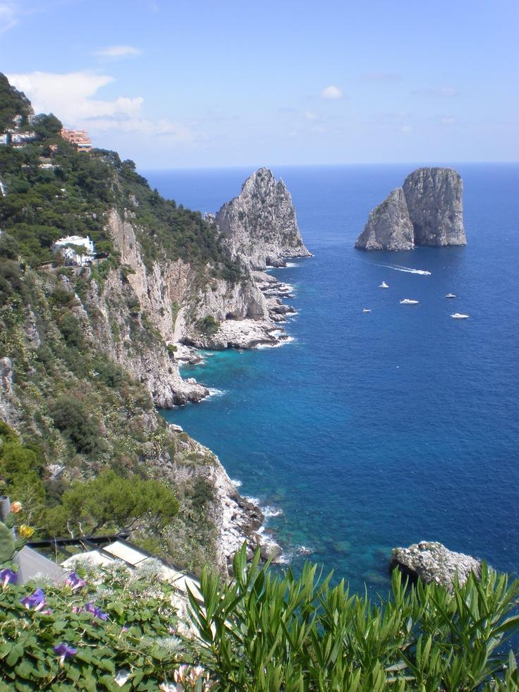 Words escape me when describing Capri, Italy
