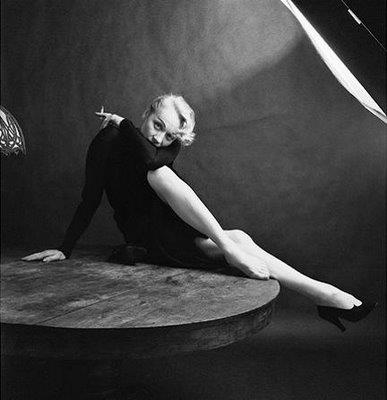 Marlene Dietrich by Milton  Greene, 1952.