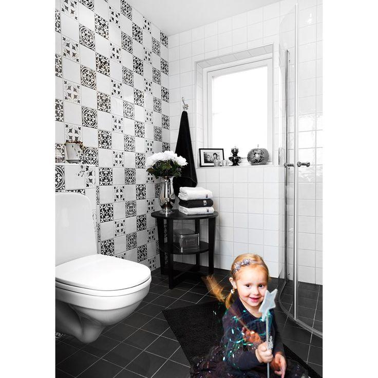 Blackstone Black Svart 7692 - Golv/vägg - Kakel och klinker - Sortiment - Konradssons Kakel