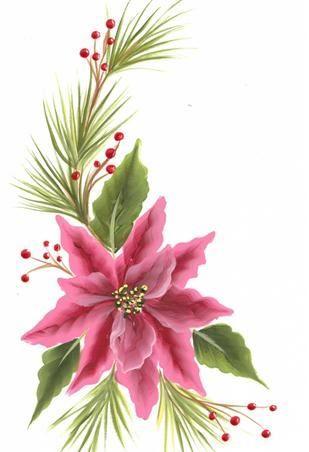 one stroke christmas cards | Gallery-nice Christmas card design