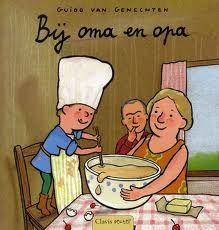 oma en opa : boekenhoek