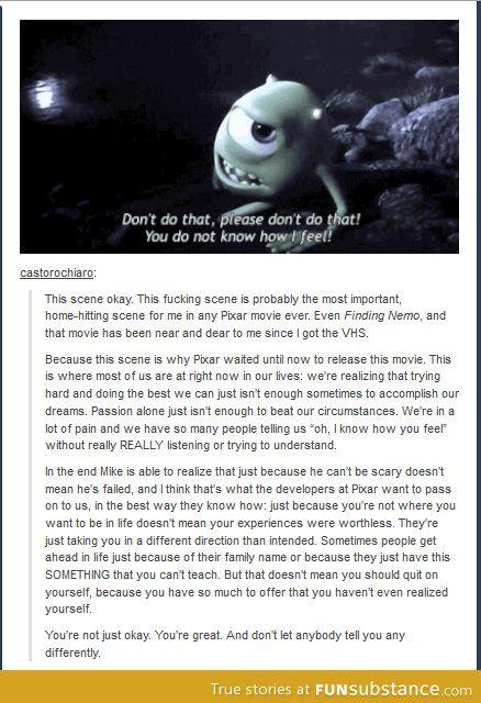 Thank you, Pixar. :')