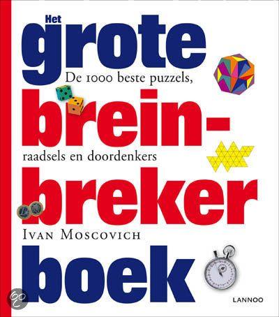 Het grote breinbreker boek bundelt de 1000 beste puzzels - absolute klassiekers en nooit eerder gepubliceerde breinbrekers - in uiteenlopende categorieën zoals meetkunde, patronen, getallen, logica, kansberekening, topologie, wetenschap en waarneming. Zet je schrap voor uren denkplezier en breinkost voor het hele gezin, dankzij een handig beoordelingssysteem van niveau 1 (opwarmertjes) tot 10 (zeer moeilijk).