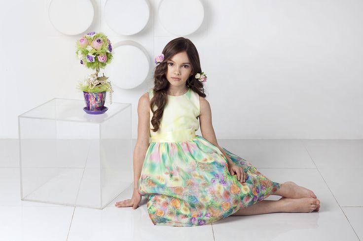 Платье с 3D эффектом - тренд грядущей весны!