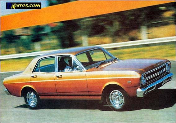 1967 Ford XR Falcon GT (AU)   Considered to be Australia's first muscle car