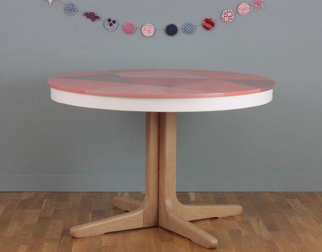 table ronde meuble vintage toulouse