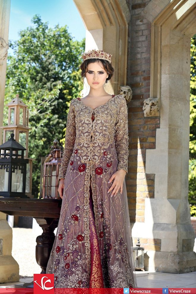 Saira Rizwan's 'Gulmohar' Bridal Collection 2015