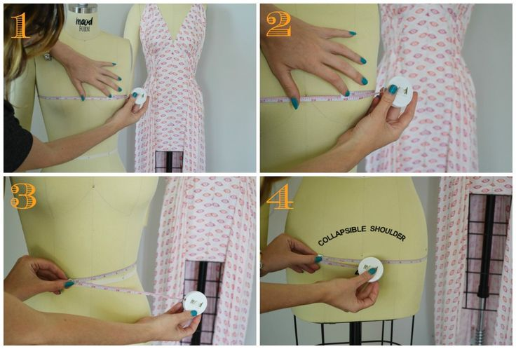 How to Measure Yourself for Sewing | Mood Designer Fabrics Sewciety Blog | Bloglovin'