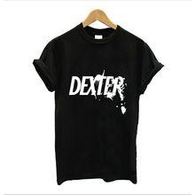 Dexter t-shirt Женская одежда для фитнеса: майки