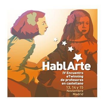 IV Encuentro eTwinning de profesores en castellano: HablARTE, celebrado en Madrid del 13 al 15 de noviembre de 2014. Participaron Almudena Fdez. Asensio (IES Luis de Camoens) y José Luis Salas (IES Almina)