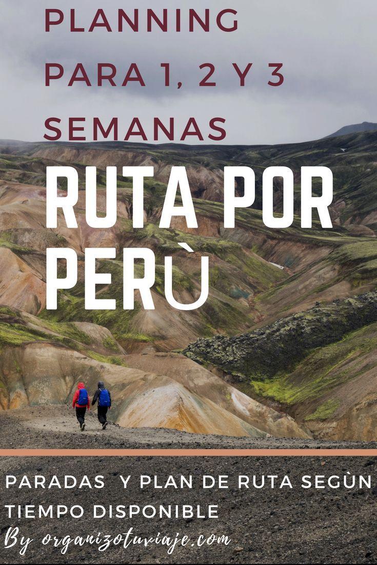 Como Organizar Y Cuanto Cuesta Un Viaje A Peru Por Libre Peru