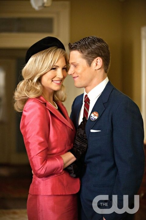 """The Last Dance"" - Candice Accola as Caroline and Zach Roerig as Matt in THE VAMPIRE DIARIES on The CW. Photo: Bob Mahoney/The CW �2011 The CW Network, LLC. All Rights Reserved.pn"