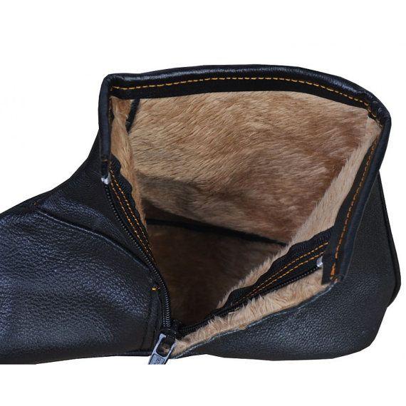 100% Genuine Sheep Leather Socks Khuffain Kuff by IslamicBazaar