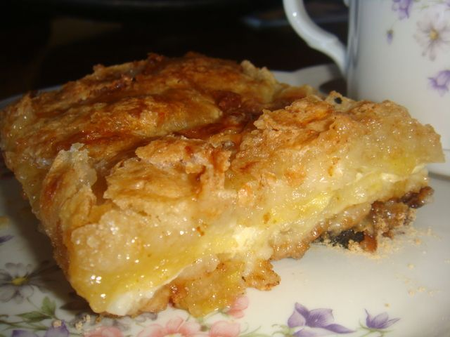 """Torta seca de manzanas """"abuela pura"""""""