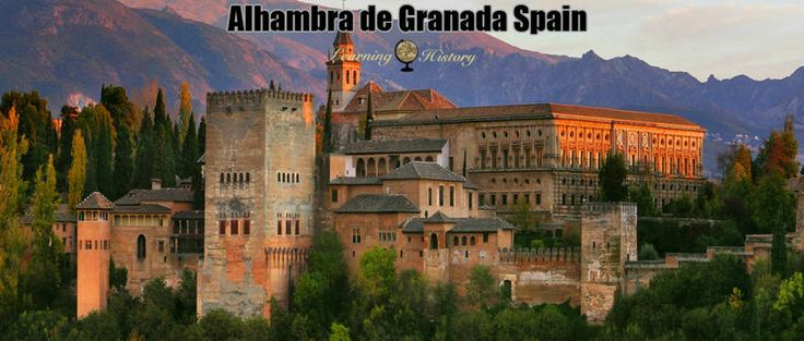 Alhambra de Granada Spain: Fortification in Spain #history | via @learninghistory