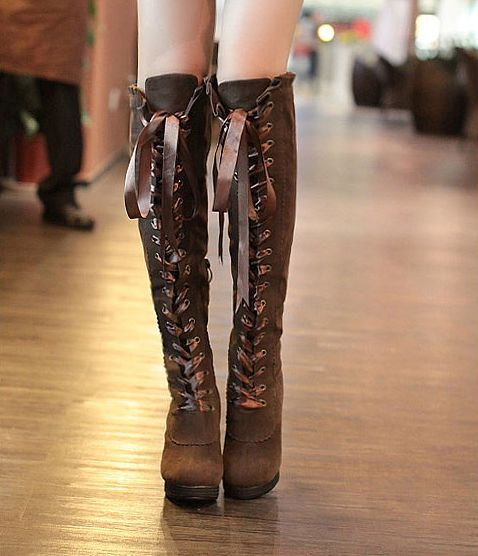 Liz Lisa boots- I love a good pair of lace up boots, be it in the military trend or cute ones. These have a comfy chunky heel, great for walking with grace.