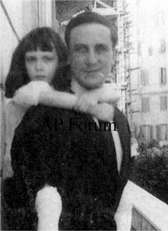 Prince Felix Yusupov and daughter