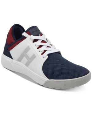 13be4263266 Tommy Hilfiger Men s Tilton Sneakers - White 8.5M