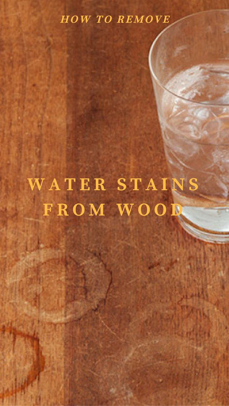 Water stains or hard water spots are caused by minerals and can be avoided completely by wiping your wood surfaces dry. But don't worry! These unsightly water rings can be removed with the right method. The heavier the stain, and the longer it is allowed to remain, the harder the mineral build up will be …