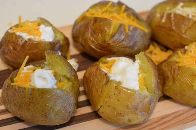 """With their thin skin and naturally buttery flavor, Yukon golds make excellent baking potatoes. According to """"The Great Potato Book,"""" they were developed in Canada in the 1980s and since then have cropped up in grocery stores across the United States. Marked by their signature pink eyes, golden skin and pale yellow flesh, even their …"""