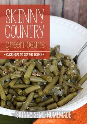 Skinny Country Green Beans | Recipe | Green Beans, Crock Pot and Beans