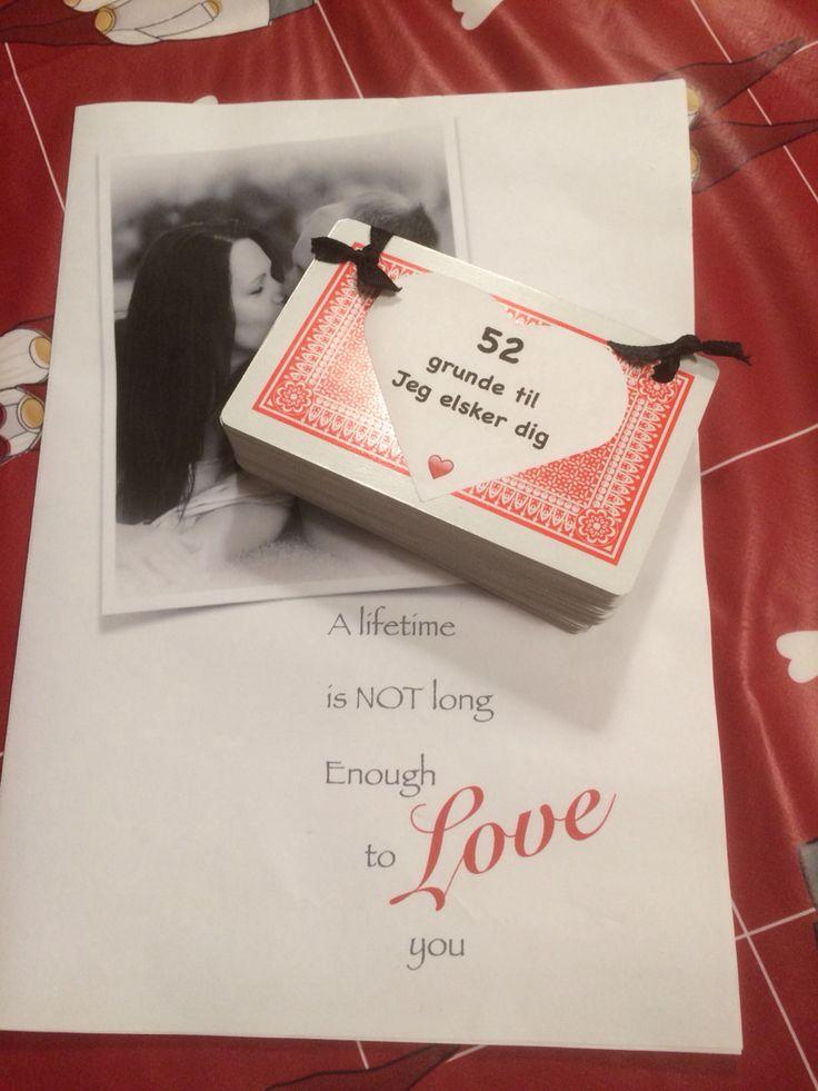 Års dags gave til min mand ❤️