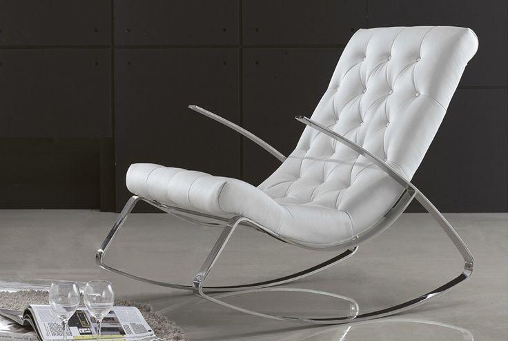 Mejores 100 im genes de muebles tapizados en capiton en for Mecedoras modernas