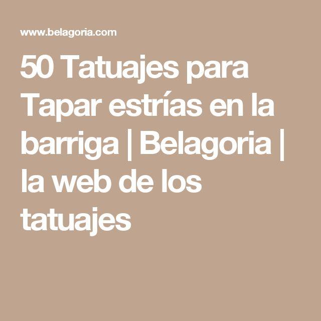 50 Tatuajes para Tapar estrías en la barriga | Belagoria | la web de los tatuajes