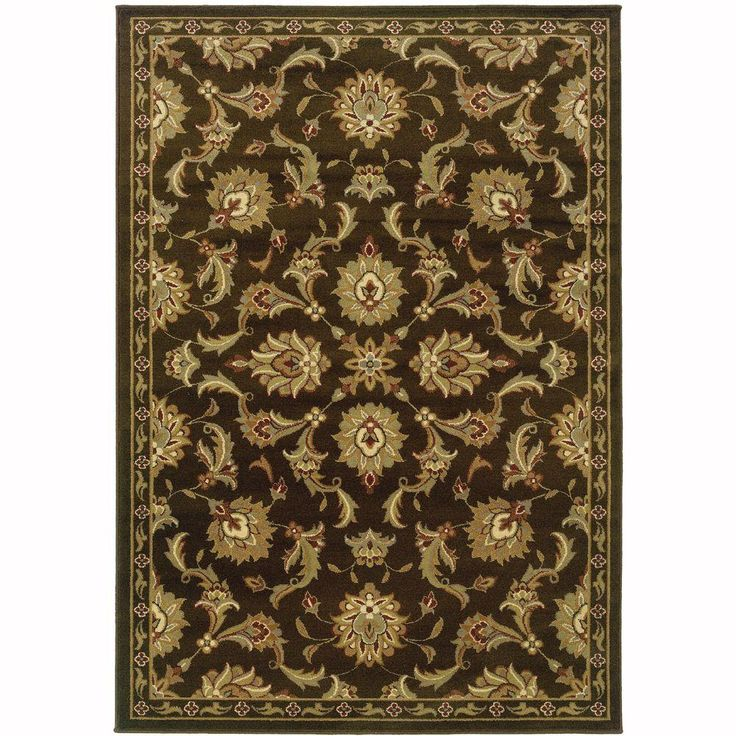 Oriental Weavers Grace Northam Brown 5 ft. x 7 ft. Area